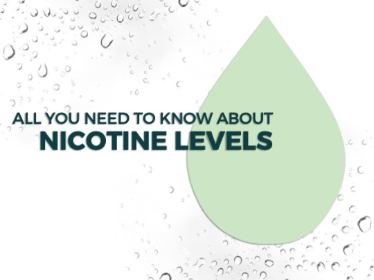 NICOTINE LEVELS GUIDE